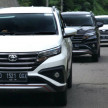 Test drive All New Toyota Rush di Bandung, 17 Januari 2018