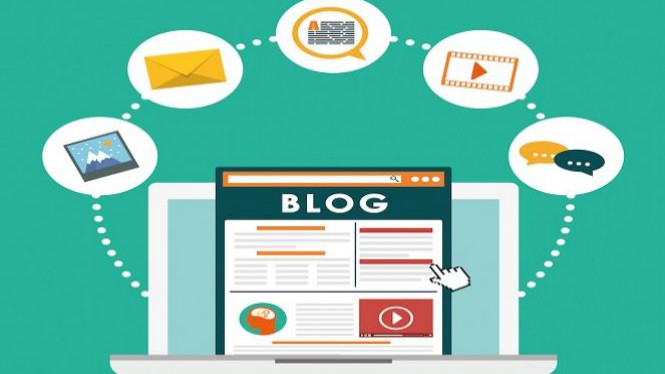 Konten marketing blog.