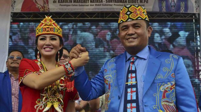 Sorot Pilkada 2018 - Kalbar Karolin Margret Natasa Suryadman Gidot