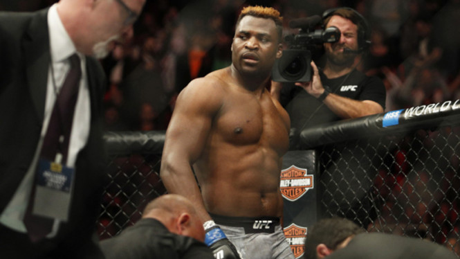 Petarung kelas berat UFC, Francis Ngannou.