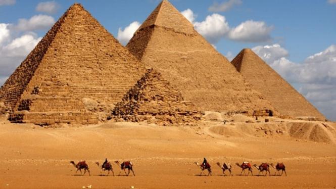 Piramida Agung, Mesir (Ilustrasi).