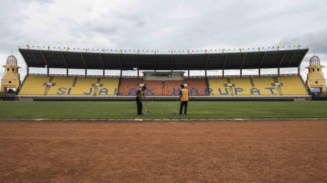Renovasi Stadion Si Jalak Harupat untuk Asian Games 2018