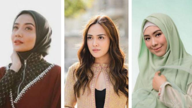 Zaskia Sungkar, Shandy Aulia, Oki Setiana Dewi