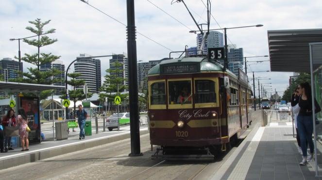 City Circle Tram, Melbourne, Australia.