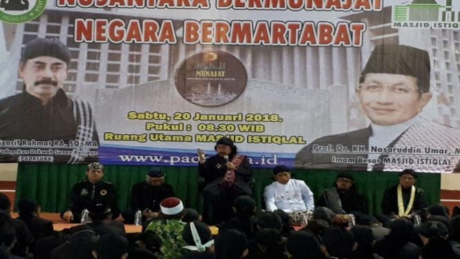 Acara Nusantara Bermunajat.