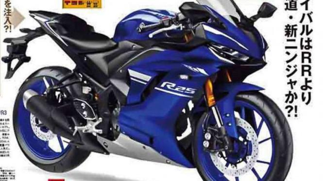 Rendering Yamaha R25 Versi Terbaru