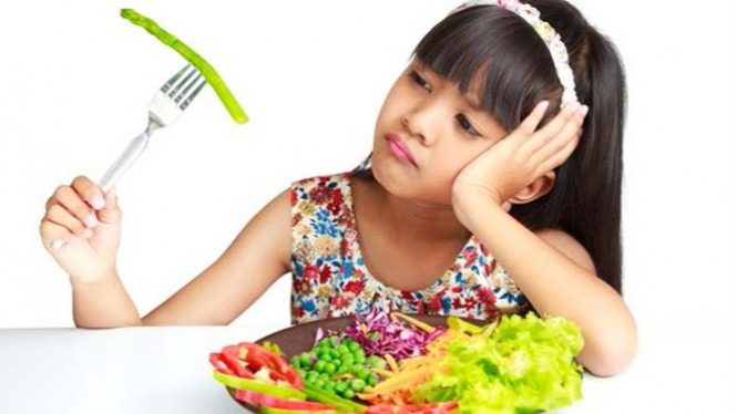 Ilustrasi anak kurang nafsu makan.