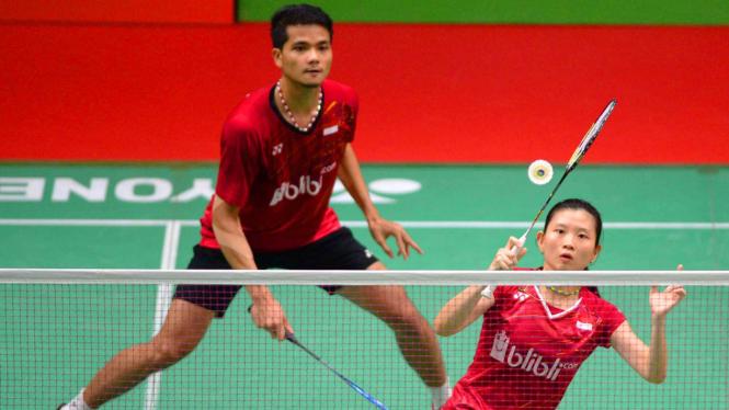 Ganda campuran Indonesia Ricky Karanda Suwardi & Debby Susanto