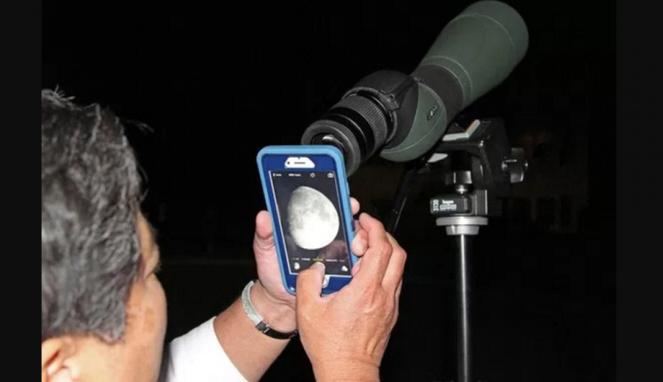 Teknik motret gerhana bulan total