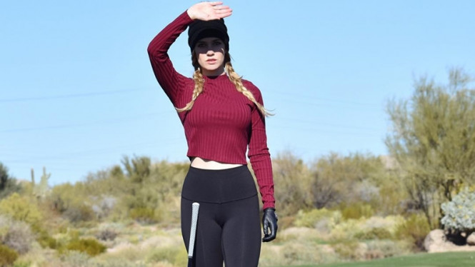 Pegolf asal Amerika Serikat, Paige Spiranac