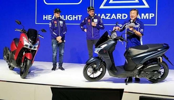 Yamaha Lexi meluncur di Indonesia.