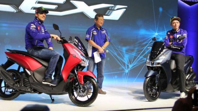Peluncuran Yamaha Lexi di Jakarta