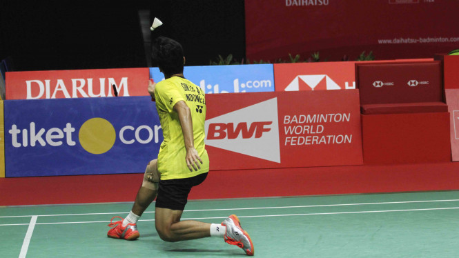 Ginting Sukses Juara Tunggal Putra Indonesia Masters 2018