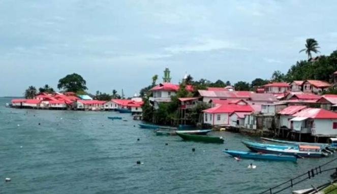 Kampung Merah Putih Kiom Maluku Tenggara