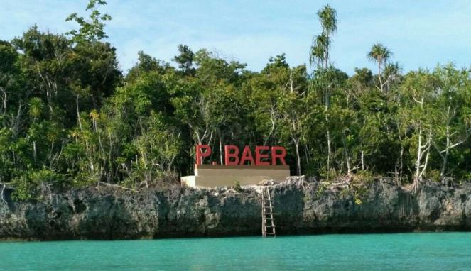 Pulau Baer di Kota Tual Maluku Tenggara