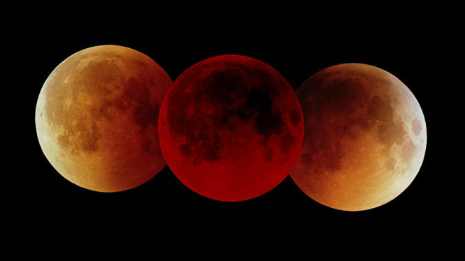 Gerhana Bulan Total pada 16 Juli 2000