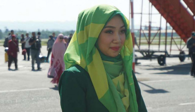 Cantiknya Pramugari Berhijab di Aceh