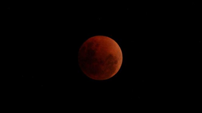 Fenomena Gerhana Bulan Super Blue Blood Moon