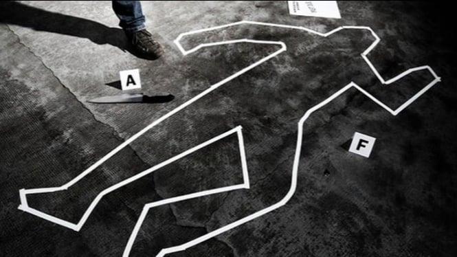 Ilustrasi lokasi pembunuhan.