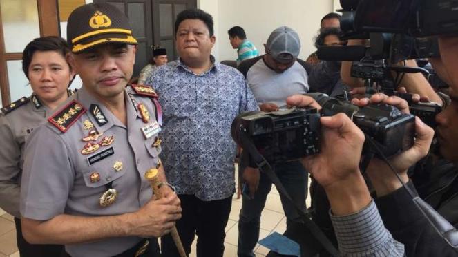 Kepala Polres Kota Besar Bandung, Kombes Pol Hendro Pandowo,