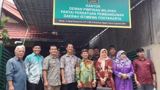 KPU Yogyakart dan DPW PPP Yogyakarta saat verifikasi faktual.