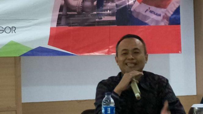 Direktur Utama PT Pertamina Gas (Pertagas), Suko Hartono.