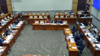 Rapat di Komisi III DPR. (Ilustrasi).