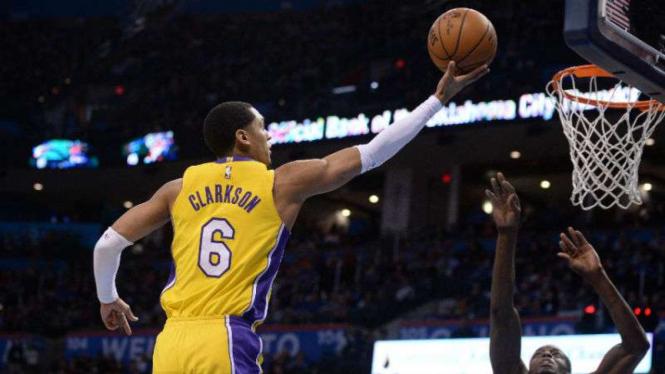 Duel Oklahoma City Thunder menghadapi Los Angeles Lakers