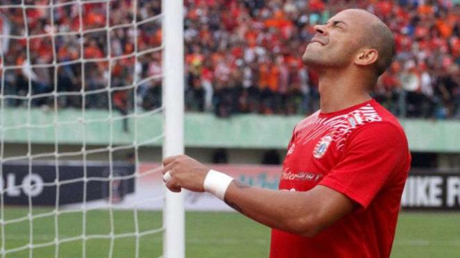 Striker Persija Jakarta, Ivan Carlos.