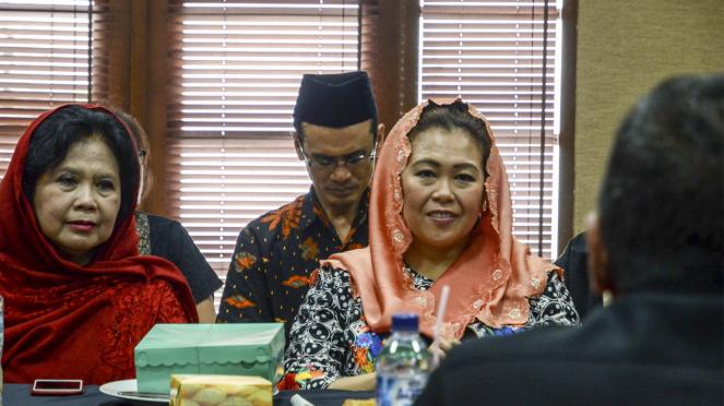 Zannuba Ariffah Chafsoh alias Yenny Wahid, putri mendiang presiden keempat RI Abdurrahman Wahid (Gus Dur).