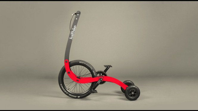 Halfbike Sepeda Roda Tiga Untuk Dewasa