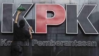 Ilustrasi Kantor Komisi Pemberantasan Korupsi  (KPK) di Jakarta.