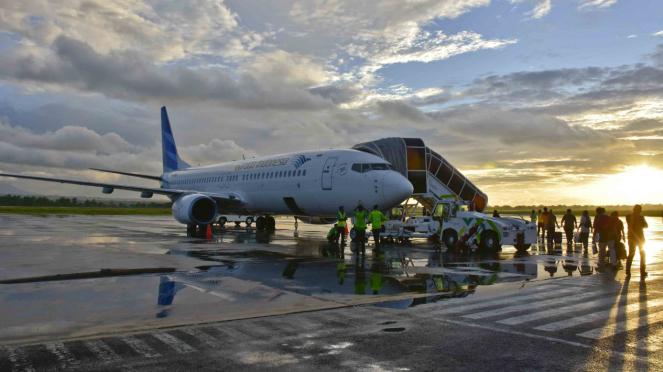 Bandara Internasional Lombok (LIA) di Praya, Lombok - Maskapai Garuda Indonesia