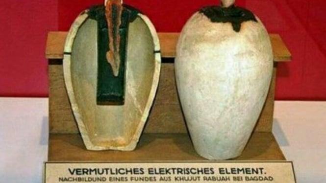 Baterai kuno dari Baghdad.