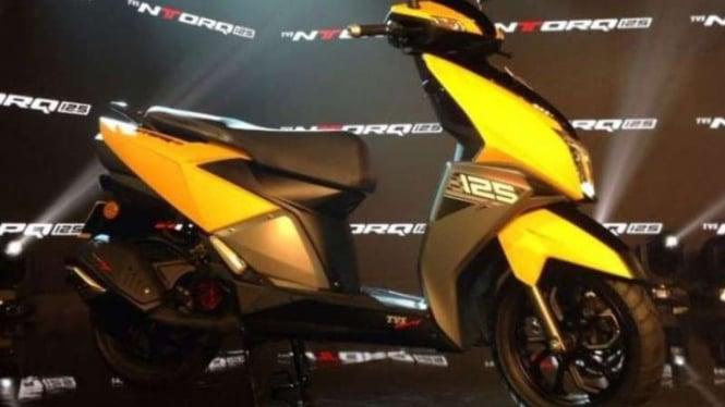 TVS Ntorq 125 diluncurkan.