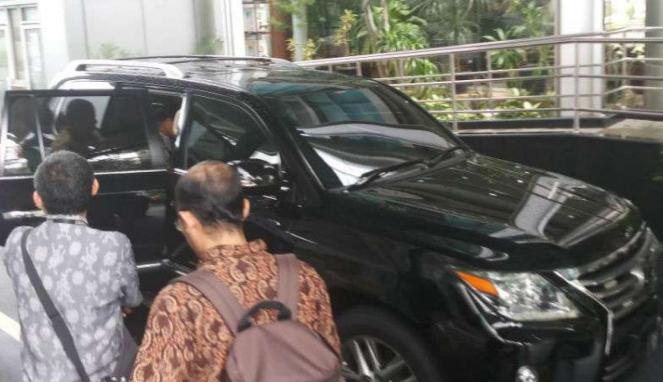 mobil milik Menko Kemaritiman Luhut Binsar Pandjaitan di periksa BSSN.