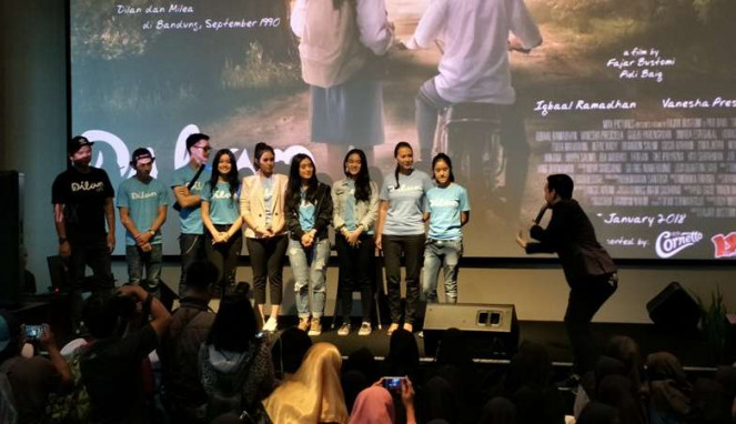 Para pemain film Dilan
