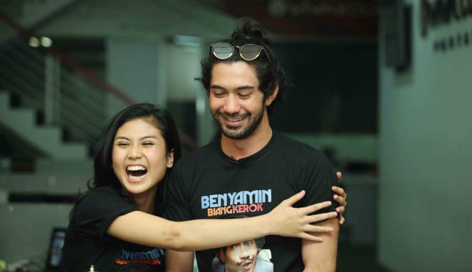Pemain Film Benyamin Biang Kerok, Reza Rahadian dan Adelia Husein