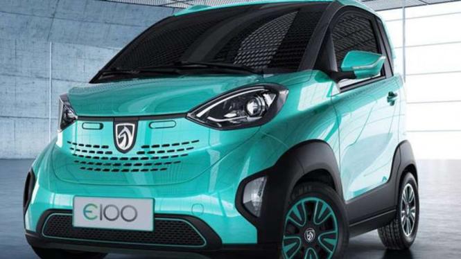 Mobil listrik Wuling, Baojun E100