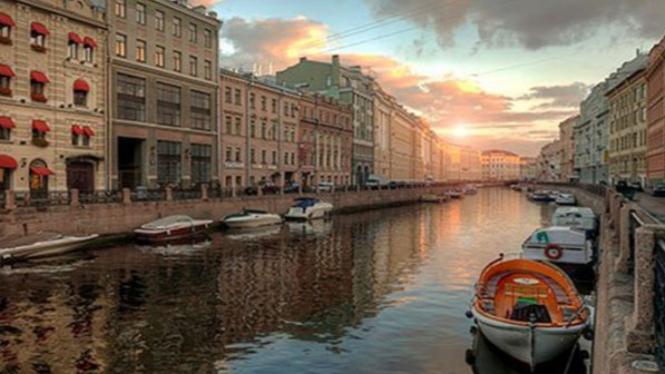 St. Petersburg, Rusia.