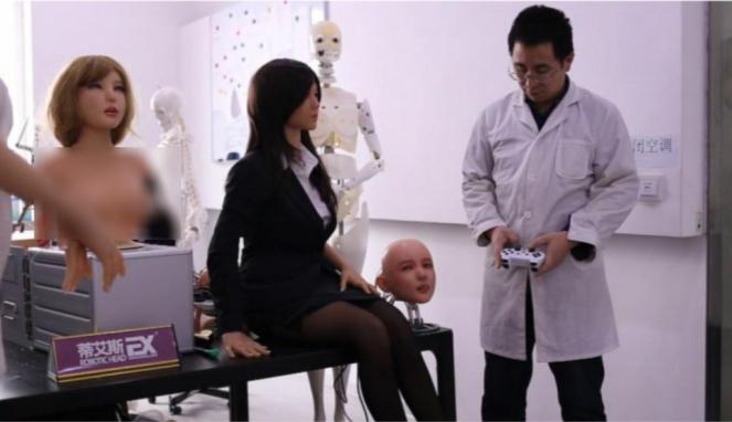 Robot seks Exdoll buatan perusahaan China