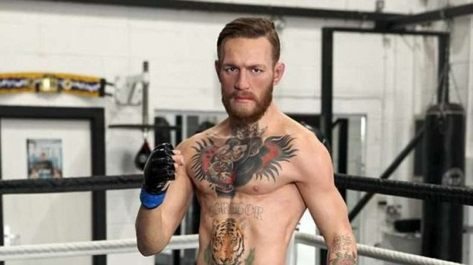 Patung lilin,Conor McGregor.