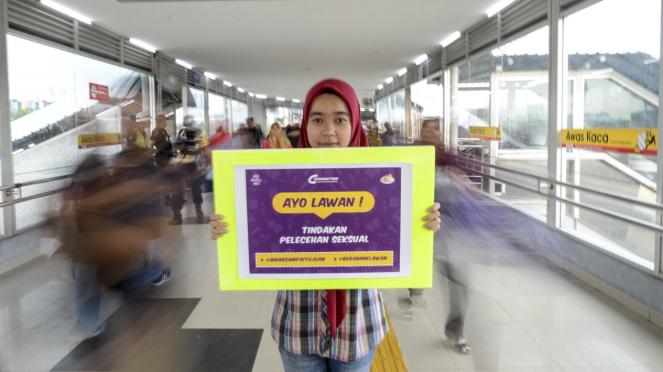 Kampanye Cegah Pelecehan Seksual di KRL