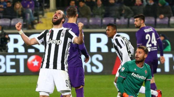 Striker Juventus, Gonzalo Higuain.