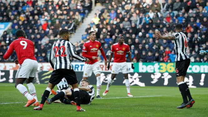 Duel Newcastle United kontra Manchester United