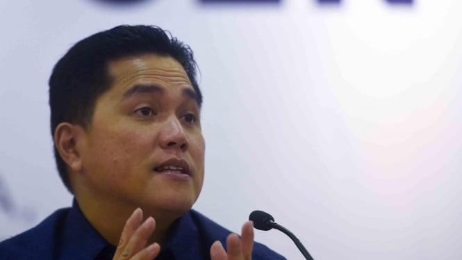 Ketua Pelaksana Asian Games 2018 (INASGOC) Erick Thohir