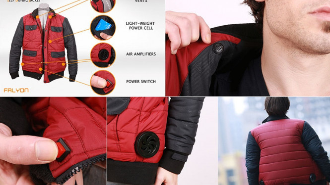 Self Drying Jacket (SDJ)-01.