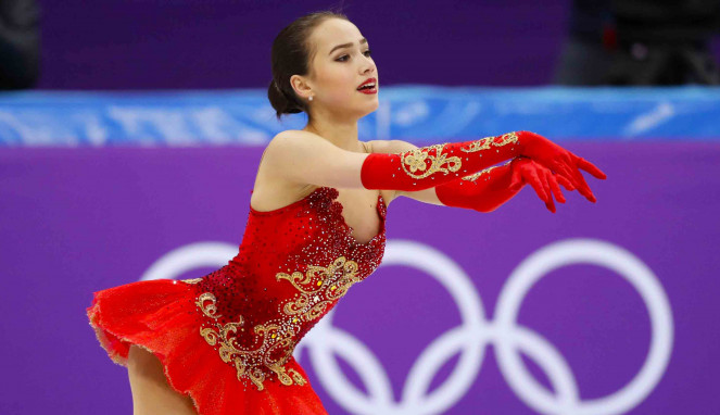 Atlet figure skating asal Rusia, Alina Zagitova