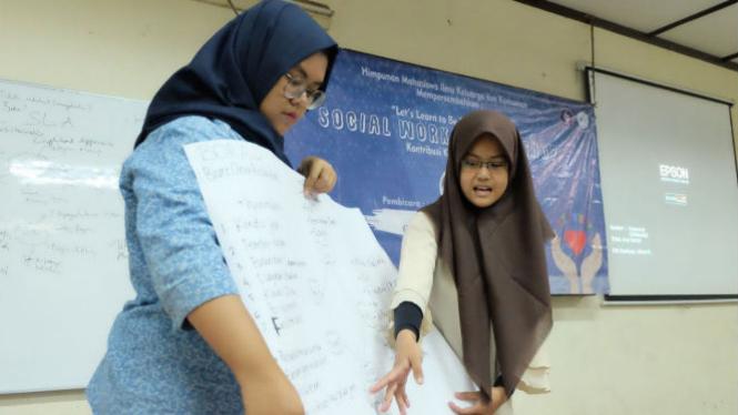 Workshop Social Worker IPB dan Dompet Dhuafa