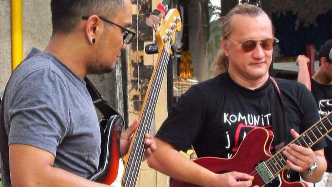 Penampilan Beben Jazz di Jazz Goes to Kampunk.